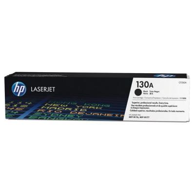 Hewlett Packard [HP] 130A Laser Toner Cartridge Page Life 1300 Black Ref CF350A