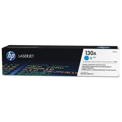 Hewlett Packard [HP] 130A Laser Toner Cartridge Page Life 1000 Cyan Ref CF351A