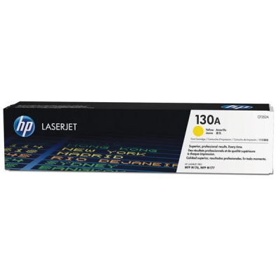 Hewlett Packard [HP] 130A Laser Toner Cartridge Page Life 1000 Yellow Ref CF352A