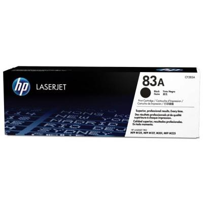 Hewlett Packard [HP] 83A Laser Toner Cartridge Page Life 1500 Black Ref CF283A