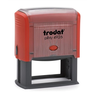 Trodat Printy 4926 Custom Stamp Self-inking Text Area 72x35mm Ref 364200