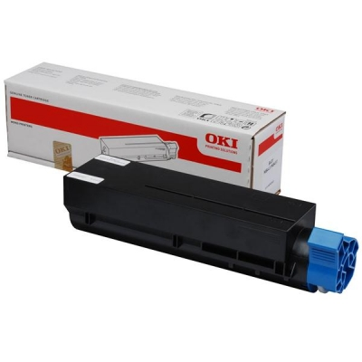 Oki MB451/MB451w Laser Toner Cartridge Page Life 1500pp Black Ref 44992401