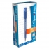 Paper Mate Flexgrip Ultra Ball Point Pen Fine 0.8mm Tip 0.3mm Line Blue Ref S0190093 [Pack 12]