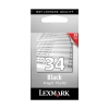 Lexmark No. 34 Inkjet Cartridge High Yield Page Life 475pp Black Ref 18C0034E