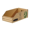 Bankers Box by Fellowes Parts Bin Corrugated Fibreboard Packed Flat W147xD280xH102mm Ref 07354 [Pack 50]