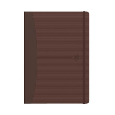 Oxford Signature Business Journal Soft Cover 144pp 90gsm A5 Brown Ref 400053151