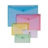 Snopake Polyfile Classic Wallet File Polypropylene DL Clear Ref 10057 [Pack 5]