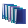 Snopake Electra Display Books 10 Pockets A4 Assorted Ref 12199 [Pack 10]