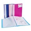 Snopake Lite Display Book Durable Polypropylene 40 Pockets Assorted Ref 15415 [Pack 12]