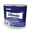 Kleenex Comfort Small Toilet Roll 2-ply 4 Rolls of 160 Sheets Ref 8484 [Pack 24]