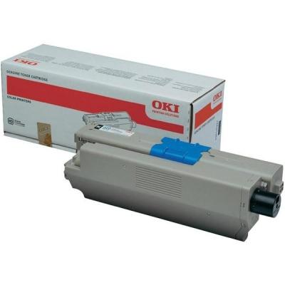 OKI Laser Toner Cartridge Page Life 2200pp Black Ref 44973536