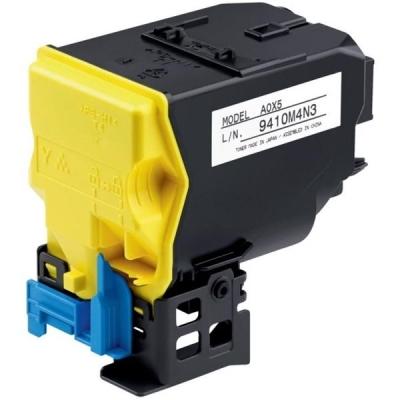 Konica Minolta Laser Toner Cartridge Page Life 6000p Yellow Ref MINA0X5252