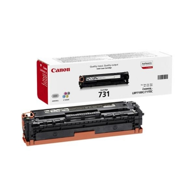 Canon Laser Toner Cartridge Page Life 1500pp Yellow Ref 731Y
