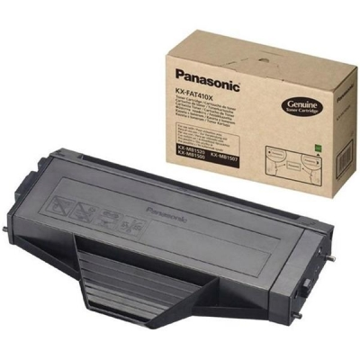 Panasonic Laser Toner Cartridge Page Life 2500pp Black Ref KX-FAT410X