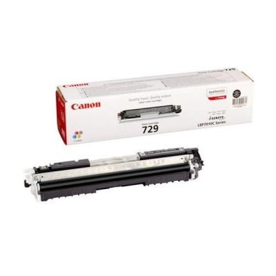 Canon Laser Toner Cartridge 729BK Page Life 1200pp Black Ref 4370B002