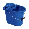 Oval Mop Bucket 12 Litre Blue