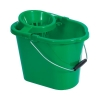 Oval Mop Bucket 12 Litre Green