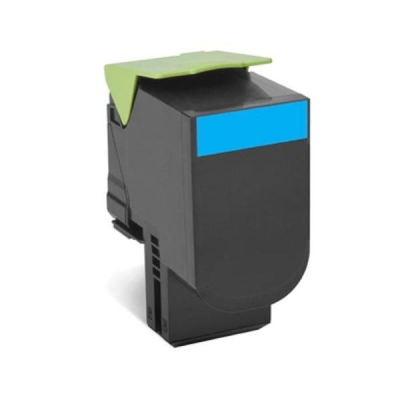 Lexmark Laser Toner Cartridge Return Program Page Life 1000pp Cyan Ref 70C20C00