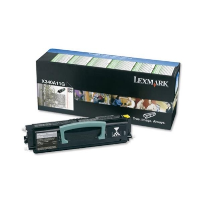 Lexmark Laser Toner Cartridge Return Program Page Life 2500pp Black Ref X340A11GG