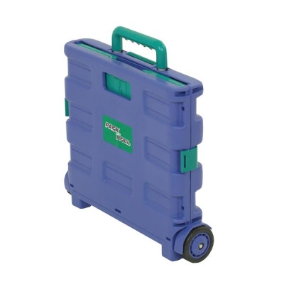 Shopping Cart Lid Folding Blue/Green