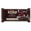 Kallo Gluten-free Rice Cake Thins Organic Dark Chocolate 90g Ref A07900
