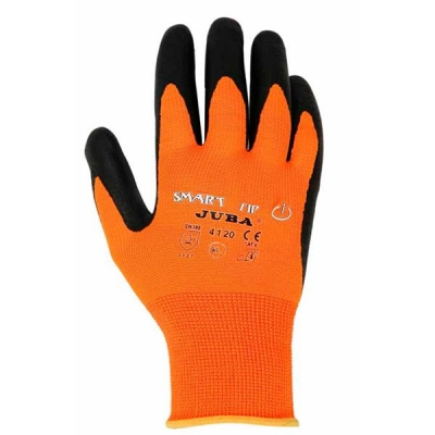 Juba Gloves Smart Tip Touchscreen Nitrile Foam Coated Size 8 [Pair] Ref 304422080