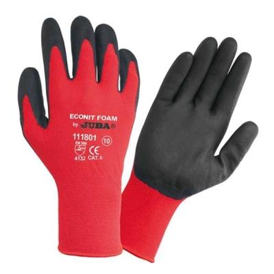 Juba Gloves Nitrile Foam Coated 15 Gauge Size 9 Red/Black [Pair] Ref 303188090