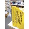 Waste Bags Clinical Heavy Duty Capacity 12Kg Orange [Pack 50]