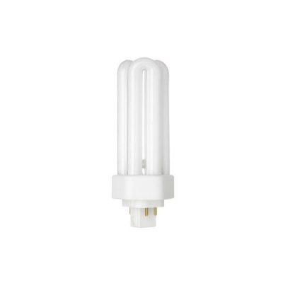 GE Lighting 18W Hex Plug-in Dimmable Compact Fluorescent Bulb A Rating 1200 Lumens Ref 34405 [Pack 10]