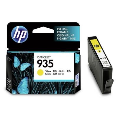 Hewlett Packard [HP] No. 935 Inkjet Cartridge Yellow Ref C2P22AE