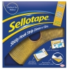 Sellotape Removable Hook Strip 25mm x 12m