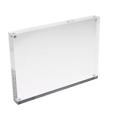 Deflecto Acrylic Block Magnetic 30mm A5 Ref MCHA511-30