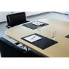 Durable Conference Desk Mat Black 42 x 30cm Ref 710101