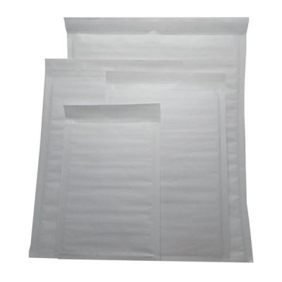 Jiffy Superlight Foam Lined Mailer White Kraft Outer Size 1 200x260mm 12.2g Ref MBSL02801 [Pack 200]