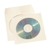 CD / DVD / Blue-Ray Disc Envelope Sleeve with Window White [Pack 50]