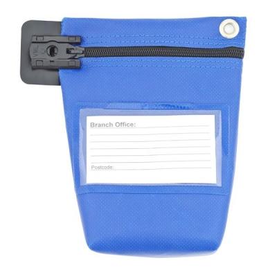 Cash Bag Small Blue Ref CB0B