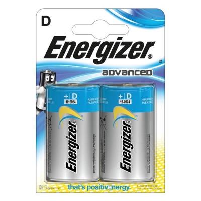 Energizer Eco Advanced Batteries D / E95 Ref E300129700 [Pack 2]