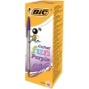 Bic Cristal Fun Ballpen 1.6mm Tip 0.6mm Line Purple Ref 929055 [Pack 20]