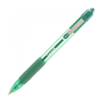 Zebra Z-Grip Smooth Ballpoint Pen Medium 1.0mm Tip 0.7mm Line Blue Ref 22562 [Pack 12]