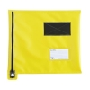 Mailing Pouch Flat A4 Plus Lockable Zip Yellow 355x 386mm