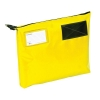 Mailing Pouch Gusset A4 Plus Lockable Zip Yellow 381x336x76mm