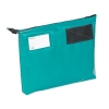 Mailing Pouch Gusset A4 Plus Lockable Zip Green 381x336x76mm