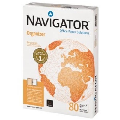 Navigator Organizer Paper 80gsm Punched 4 Holes Ref 127563 [500 Sheets]