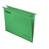 Esselte Classic Suspension File Reinforced Foolscap File Green Ref 90337 [Pack 25]
