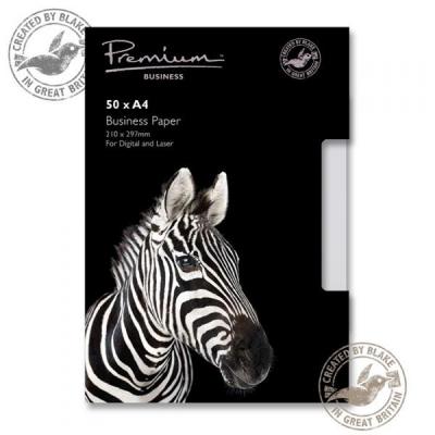 Blake Premium Paper 120gsm A4 High White [Pack 50] Ref 39676