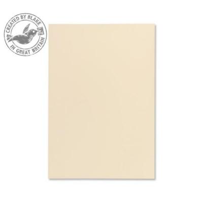 Blake Premium Paper Wove Finish 120gsm A4 Cream [Pack 50] Ref 61676