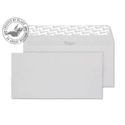 Blake Premium Envelope Wallet Peel & Seal 120gsm Diamond White DL [Pack 500] Ref 91882