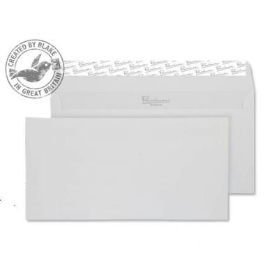 Blake Premium Envelope Wallet Peel & Seal 120gsm Brilliant White DL [Pack 500] Ref 37882
