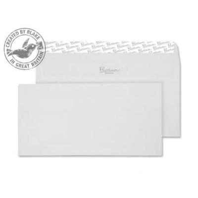 Blake Premium Envelope Wallet Peel & Seal 120gsm Wove Finish High White DL [Pack 500] Ref 35882