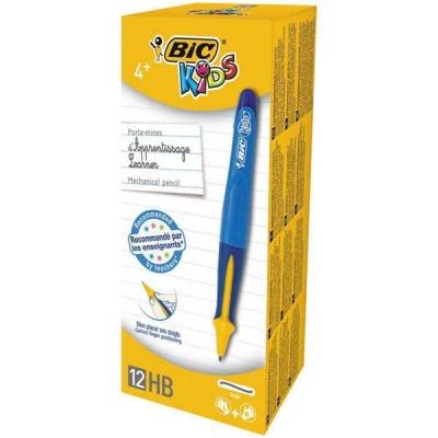 Bic Kids Mechanical Pencil Visible Guide 0.4mm Line Blue Barrel Ref 918462 [Pack 12]